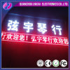 Semi-extérieur P10 Single Color Bus LED Display