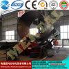 4 rouleau hydraulique de la plaque de tôle en acier métallique plieuse de rouleau