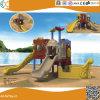 海賊船の子供のための屋外のプラスチック運動場装置