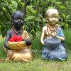 Mini decorazione del giardino del Buddha della rana pescatrice di vendita calda