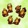 Jogo de riso de Buddhas de 6 partes