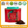 Scatola metallica Spiced del tè dello stagno del metallo di natale per il contenitore impaccante di regalo