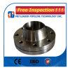 Bride à haute pression de collet de soudure ASTM A105 pour la canalisation de pouvoir