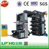 8 couleurs PE Soft Loop Handle Bag Flexographic Printing Machine