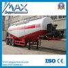 Semi Aanhangwagen van de Tank van het Poeder van de Vrachtwagen van het Cement van de tri-as de Bulk