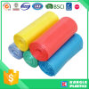 HDPE LDPEの別のカラーのロールによって詰められるごみ袋