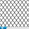 Treillis métallique de maillon de chaîne de /PVC/frontière de sécurité enduits galvanisés plongés chauds
