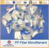 Concrete Cement를 위한 PP Monofilament Fiber