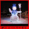 백색 주제 눈사람 크리스마스 훈장 빛