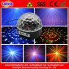 Luz de la bola cristalina del disco de 6W LED Rgbywv MP3 con control remoto