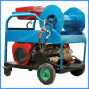 Máquina de limpeza de tubulação de esgoto Motor a gasolina 24HP