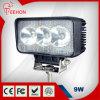 9W luz de inundación impermeable del trabajo del CREE LED