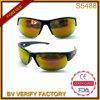 Mitad-borde exterior gafas de sol deportivas con la Revo y Caucho