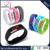 Relojes delgados de la venta caliente, reloj del silicón LED, reloj del deporte LED, relojes de la luz