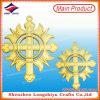 Kenteken van de Speld van het Embleem van het Metaal van de Medaille van het Medaillon van de Medailles van Italië het Christelijke Godsdienstige Dwars Gouden Holle met Veiligheidsspeld (lzy-00020130057)