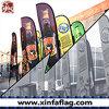 Larme promotionnelle de drapeau d'indicateur de plage