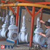 API6d manueller Form-Stahl-Keil-Absperrschieber