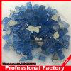 Chimenea Fireglass Fogata de 1/4 de vidrio reflectante azul pacífico