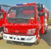 3000-6000トラックリットルの水スプリンクラータンク、4X2消火活動のトラック