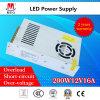 12V 16,7 un driver de LED d'alimentation 200 W pour les SMPS à affichage LED
