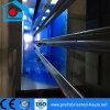Hogar de acero prefabricado de la resistencia oxidada con la capa del polvo