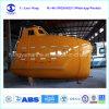 16 Personen-Fiberglas-Fall-Rettungsbootsolas-beiliegendes Marinerettungsboot