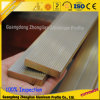 Barre plate solide en aluminium de constructeur en aluminium de section