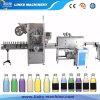 Maquinaria Shrinking da etiqueta automática do frasco da luva do PVC