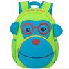 Grandi sacchetti di banco dello zaino della scimmia del fumetto dello zaino del neoprene dei bambini
