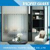 L'acide à motifs gravés en verre clair Verre décoratif/ Art Glass