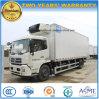 Dongfeng 6の車輪によって冷やされているボックスは食糧10トンのトラックをリフレッシュする