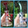 Tubulação de água de vidro Shaped original arrebatada do Borosilicate de vidro Shining