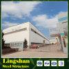 Fábrica de la estructura de acero y taller y almacén con el panel de emparedado