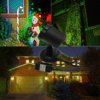 Ducha estática al aire libre de la proyección de la estrella de la luz de la Navidad del laser del proyector para la iluminación del partido de casa con teledirigido