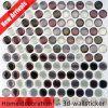 Entfernbare wasserdichte Vinylschale u. Tapeten-Stock des Stock-3D auf Fliesen für Backsplash Magie