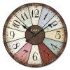 Customed 선전용 나무로 되는 시계, 도매 고대 시계, 벽 커튼 시계