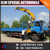 Chine Fabricant 10ton Truck Load Folding Arm Crane Knuckle Crane Truck