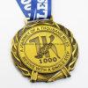 Medaglia corrente su ordinazione del premio del ricordo di sport dell'oro 1k dell'oggetto d'antiquariato del metallo