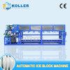 5tons食品加工のための水冷却を用いる自動ブロックの製氷機