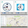 Google Map Rastreador GPS com Software de plataforma Web e APP