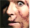 Tatuaje temporal impermeable del arte de la etiqueta engomada del tatuaje del terrorista de Víspera de Todos los Santos