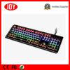 104 Tipo de teclado mecánica de juego Double Shot teclas Punk ronda