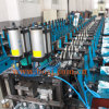 Rodillo del sistema de la prolongación del andén de la cubierta de suelo de acero que forma a surtidor Tailandia de la máquina