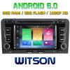 Witson Acht Androïde 6.0 Auto van de Kern DVD voor Audi A3