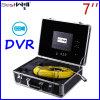 7  20mから100mのガラス繊維ケーブルが付いているデジタルLCDスクリーンDVRのビデオ録画が付いている23mmの下水管の点検カメラCr110-7Dを防水しなさい