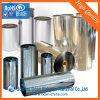 Крен пленки PVC ясности голубой подкраской твердый