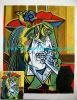 Olieverfschilderij, het Olieverfschilderij van Picasso, het Met de hand gemaakte Olieverfschilderij van 100%