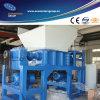 Máquina plástica de la desfibradora de la sola del eje de la desfibradora del doble desfibradora del eje
