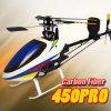 바람 폭풍우 450 직업적인 탄소 섬유 3D 토크 관 RC 헬기 (T-Rex Compat를 맞추십시오.)