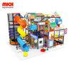 Mich Soft equipamentos de playground playground coberto com deslize